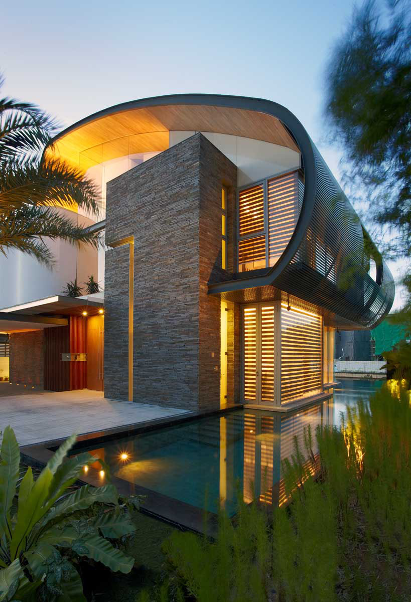 Nautical-Inspired House By The Marina In Singapore ... on Modern:szae7Exnfpq= Amazing Houses  id=24497
