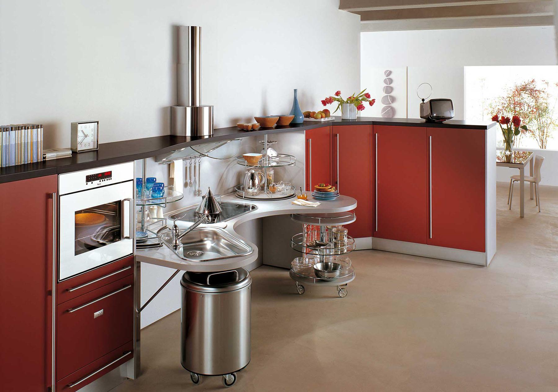 Ergonomic Italian Kitchen Design Suitable For Wheelchair Users IDesignArch Interior Design