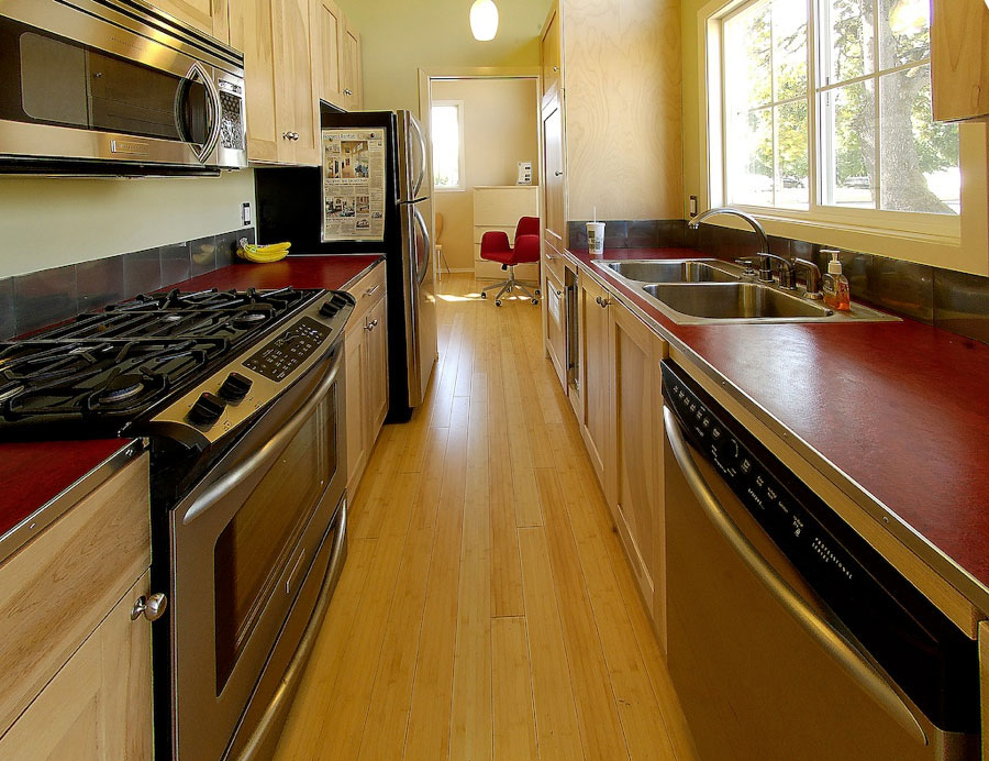 Charming Small Prefab Home Model   iDesignArch   Interior ... on Modern:ln_Sacsp1Ua= Kitchen Model  id=24824