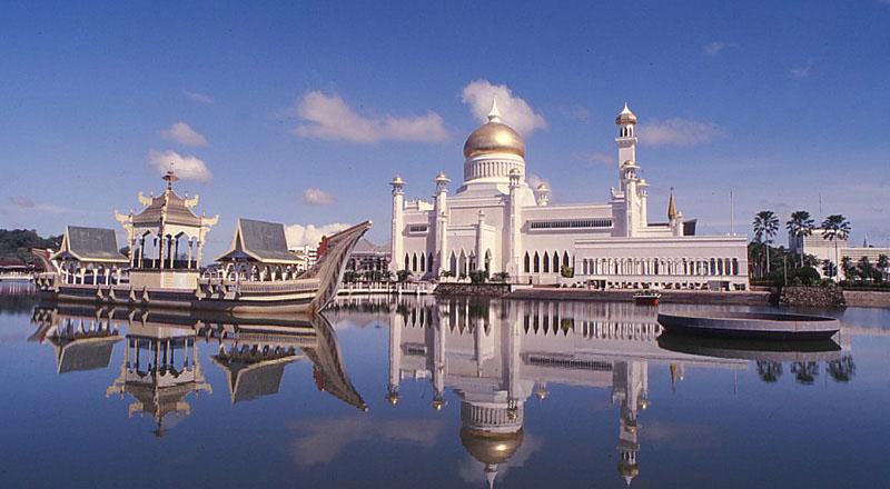 Sultan Omar Ali Saifuddin Mosque Idesignarch Interior