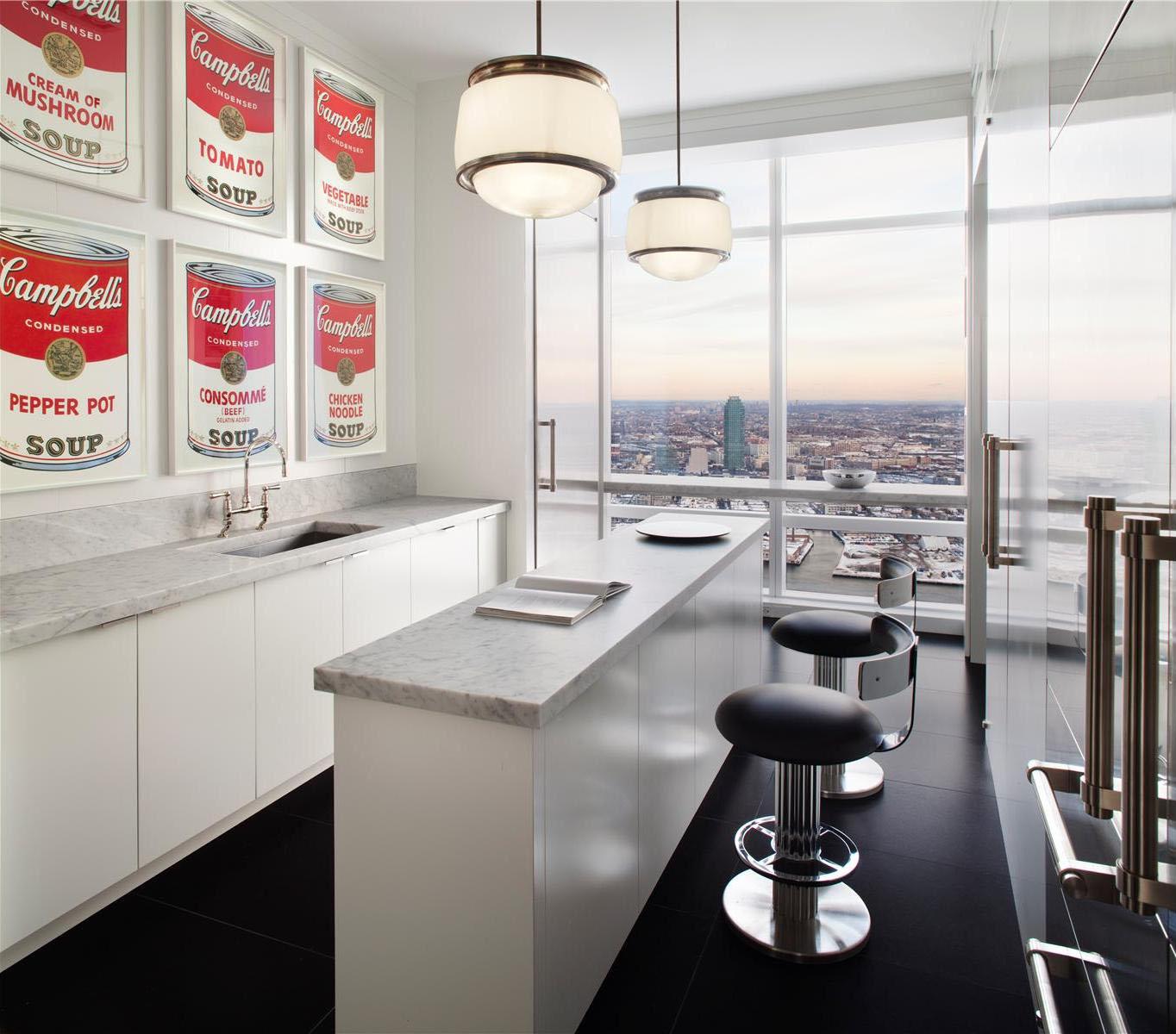 Trump World Tower Modern Penthouse IDesignArch Interior Design Architecture Amp Interior