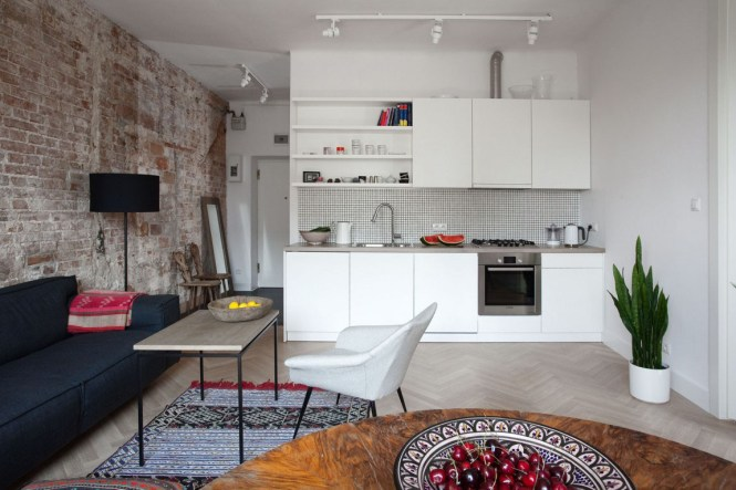Small Apartment In Warsaw With Tasteful