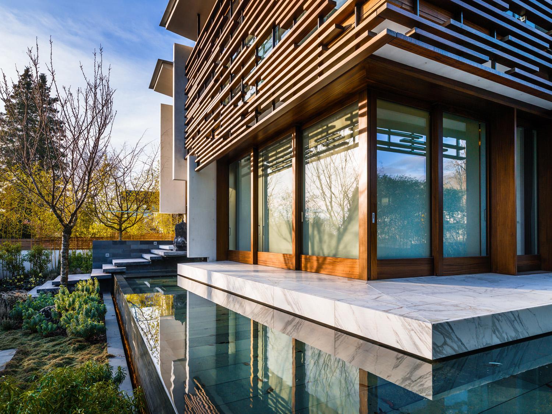 West Coast Oriental Vancouver Modern Home 3
