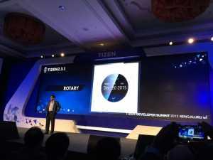 Samsung Gear A carcasa rotativa