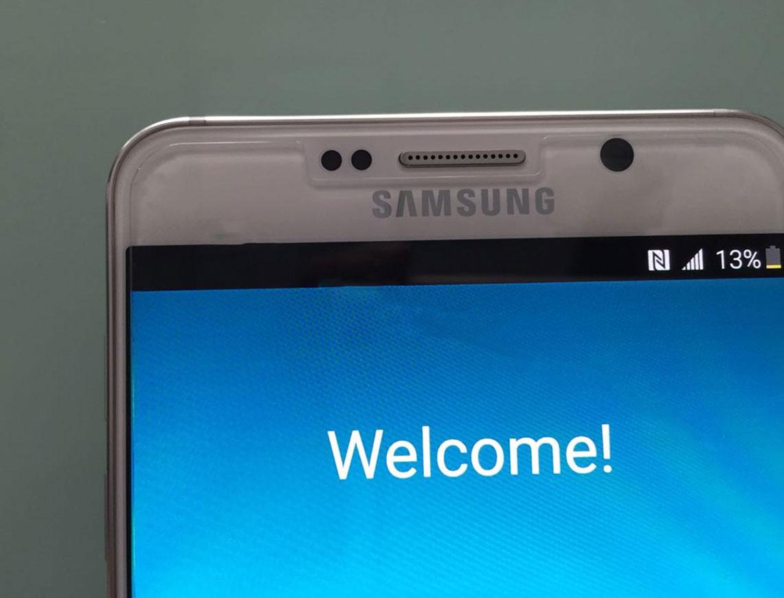 Sasmung Galaxy Note 5 primele imagini 2