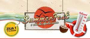 Summer Fest reduceri eMAG 45%