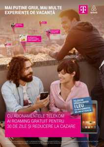 Telekom Travel Extra 100 roaming gratuit reducere cazare