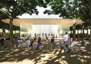 cafenea Apple Campus 2