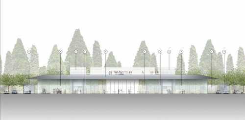 centru vizitatori Apple Campus 2 1