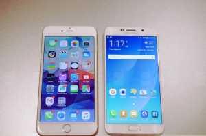 iPhone 6 Plus vs Samsung Galaxy S6 Edge+