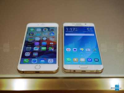 iPhone 6 Plus vs Samsung Galaxy S6 Edge+ 2