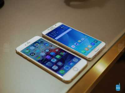 iPhone 6 Plus vs Samsung Galaxy S6 Edge+ 3