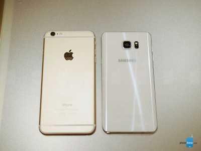iPhone 6 Plus vs Samsung Galaxy S6 Edge+ 6
