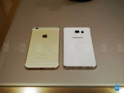iPhone 6 Plus vs Samsung Galaxy S6 Edge+ 7