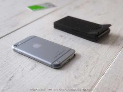 iPhone cu clapita concept 1