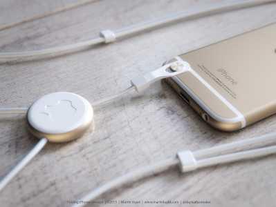 iPhone cu clapita concept 15