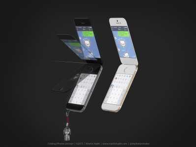 iPhone cu clapita concept 16
