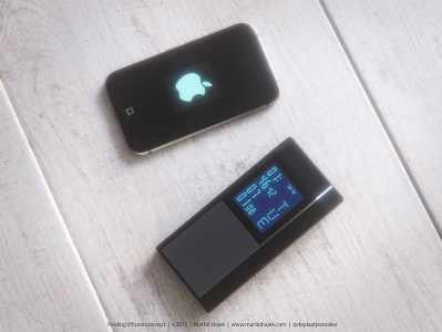 iPhone cu clapita concept