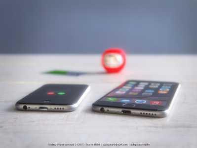 iPhone cu clapita concept 5