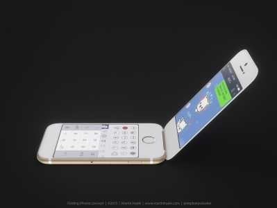 iPhone cu clapita concept 7