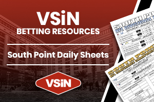 South Point daily sheets
