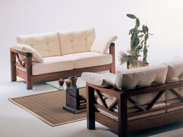 Fine Modern Wooden Sofa Designs O With Inspiration Decorating