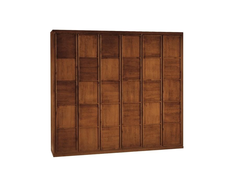 cherry wood wardrobe idfdesign