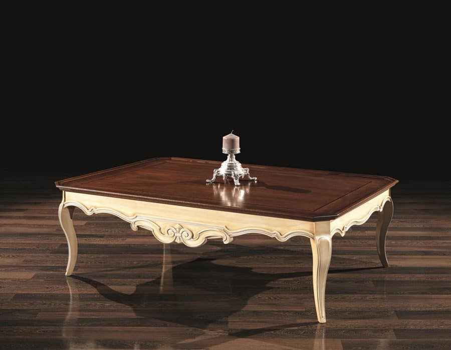 decorative small table in wood with