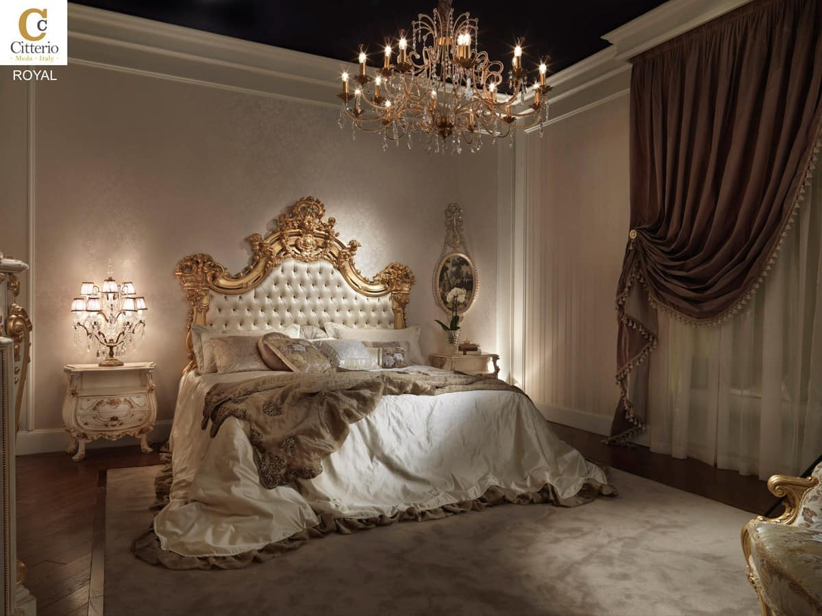 Bedroom In Solid Wood In Classic Style IDFdesign