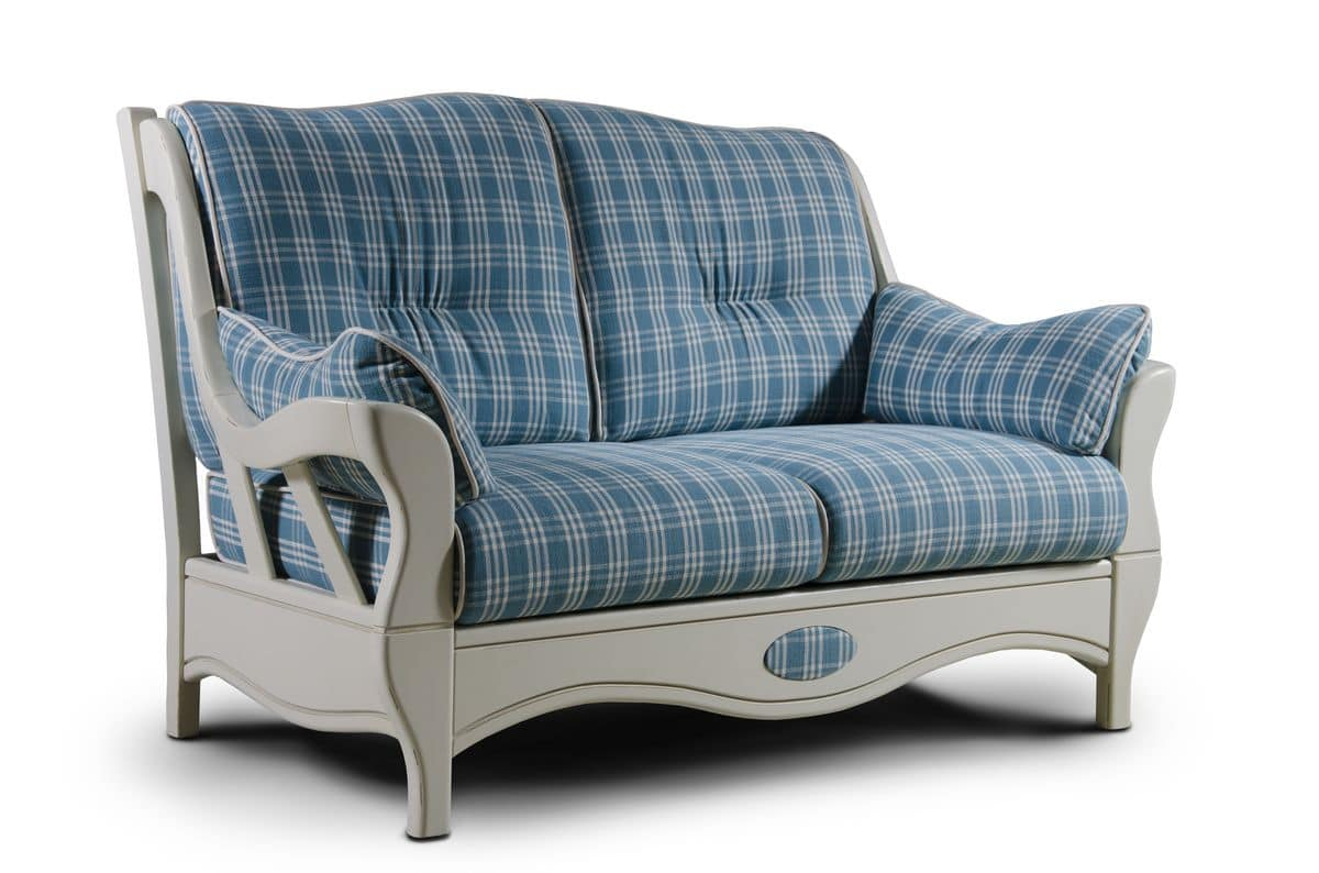 I tavoli da giardino provenzali sono un elemento fondamentale nell'organizzazione dello spazio esterno. Two Seater Sofa Country Style Idfdesign