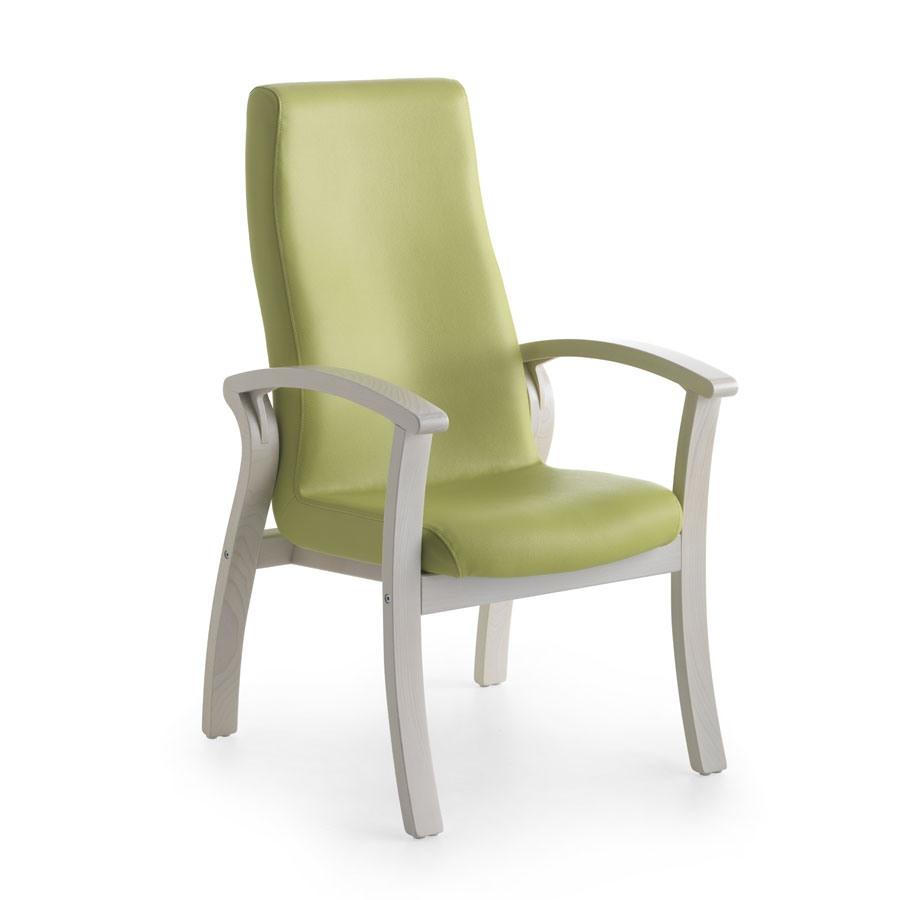chaise confortable avec un dossier haut
