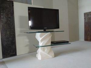 meubles tv en pierre idfdesign