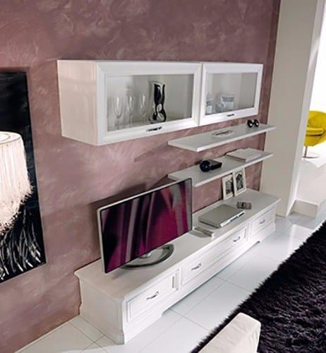meuble modulaire pour salon en bois