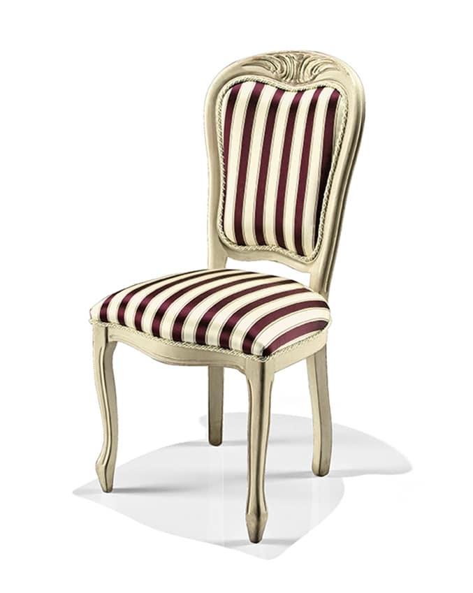 La nova sedia è il punto di riferimento che stavate cercando a varedo per l'acquisto e il rivestimento di sedie imbottite in tutti i modelli. Sedia Da Pranzo In Tessuto Idfdesign