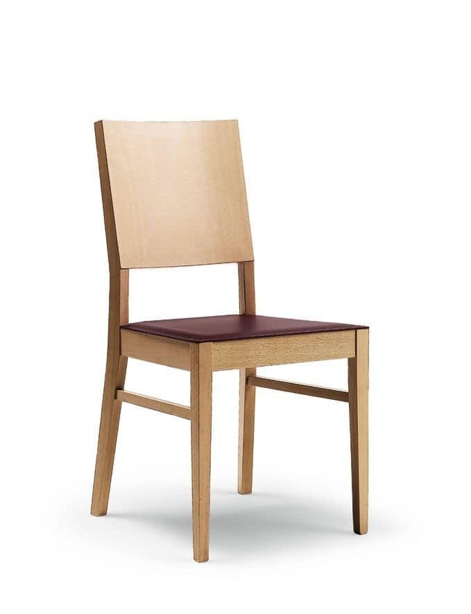 Sedia In Legno Di Faggio Per Ristorante E Sala Da Pranzo
