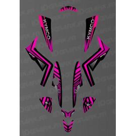 kit deco custom monster pink kymco 250 maxxer
