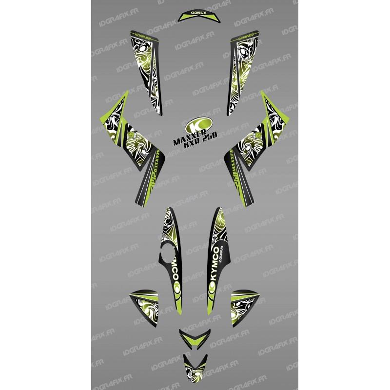 kit decoration tribal vert idgrafix kymco 250 kxr maxxer