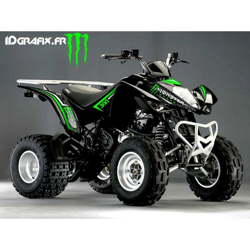 kit deco custom monster grun kymco 300 maxxer
