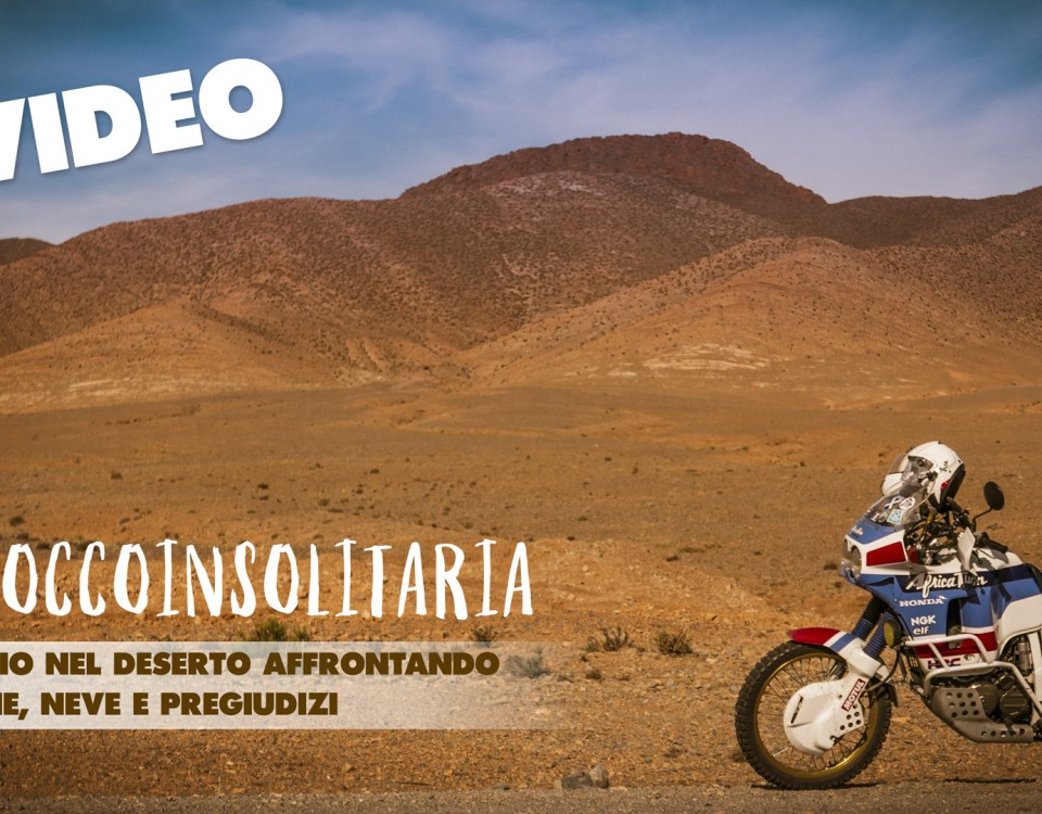 marocco in solitaria - il video