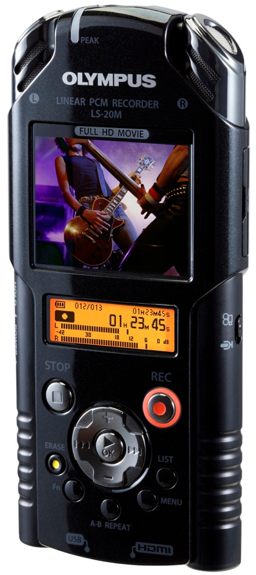 Olympus LS-20M HD Video & Digital Voice Recorder