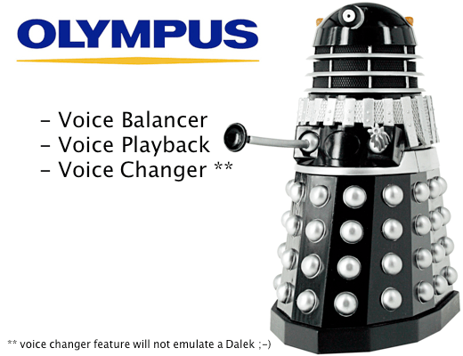 Olympus Voice New Innovative Digital Voice Recorder Features