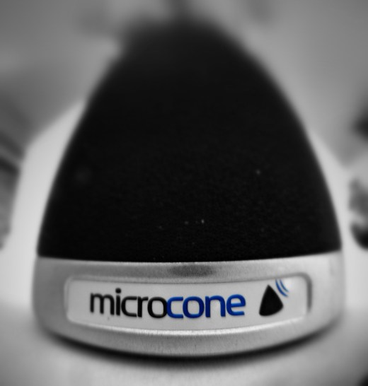 Microcone from Dev-Audio record meetings on your Mac