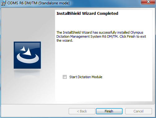 ODMS Olympus Dictation Management System R6 Free Trial Download Install Instructions