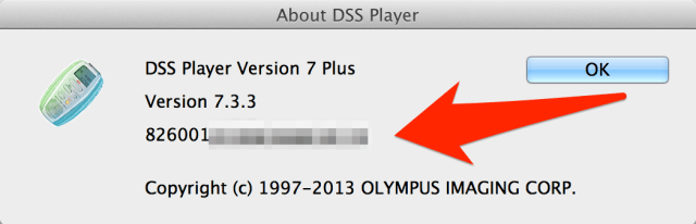 Olympus DSS Player Plus v7 Software Licence Key Mac