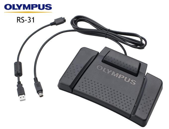 Olympus RS31 Mac Transcription Software USB Foot Control Pedal