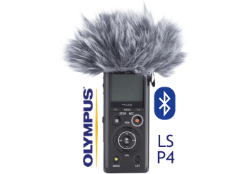 Olympus WJ2 Wind jammer to reduce wind noise for LS-P4