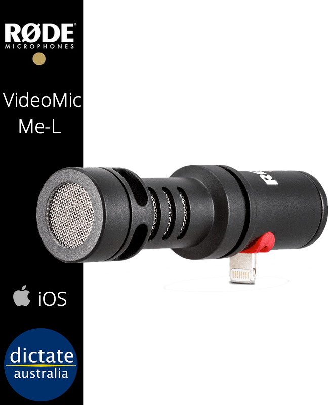 Rode VideoMic ME-L Directional Zoom Mic iOS Lightning