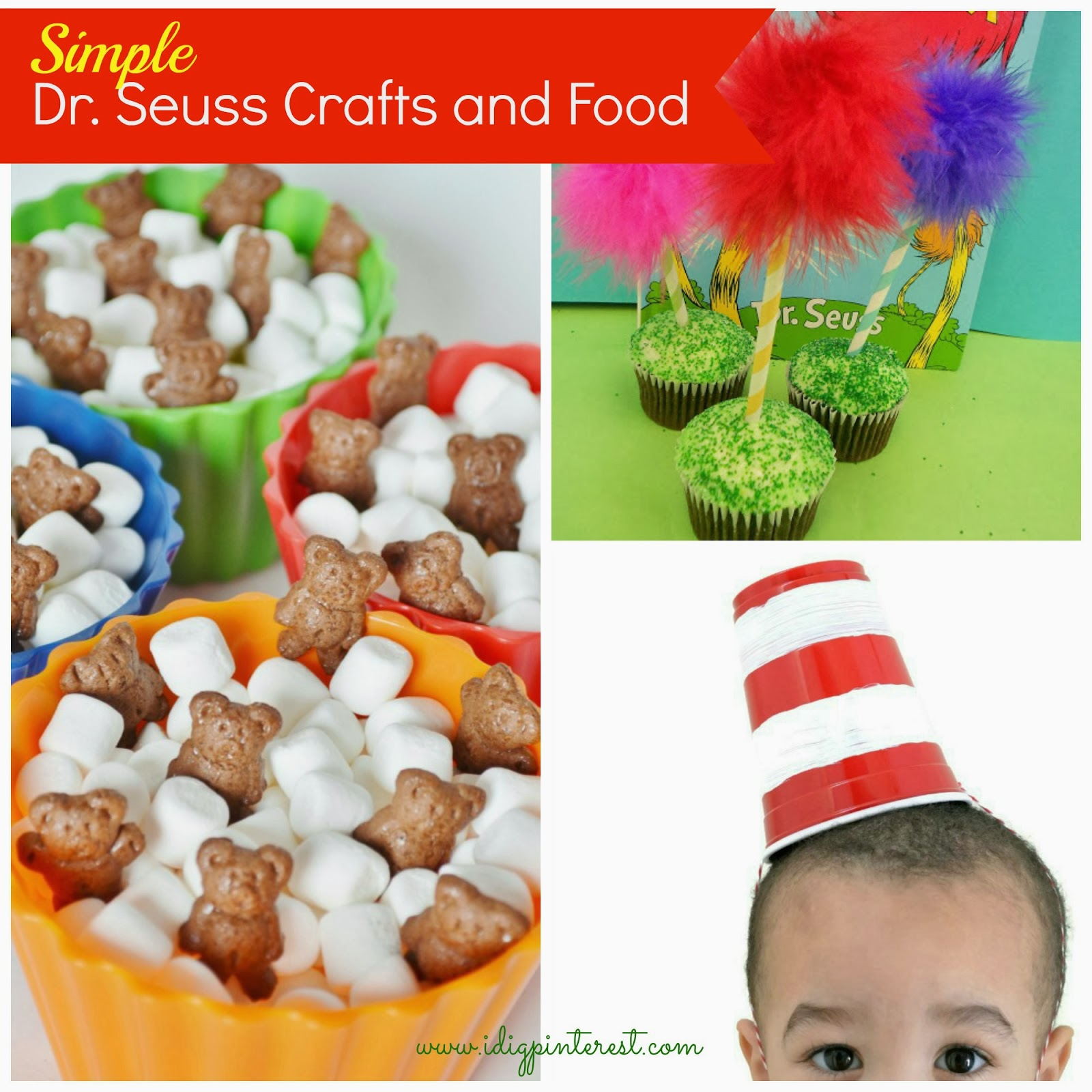 13 Simple Dr Seuss Crafts And Food Ideas For Kids