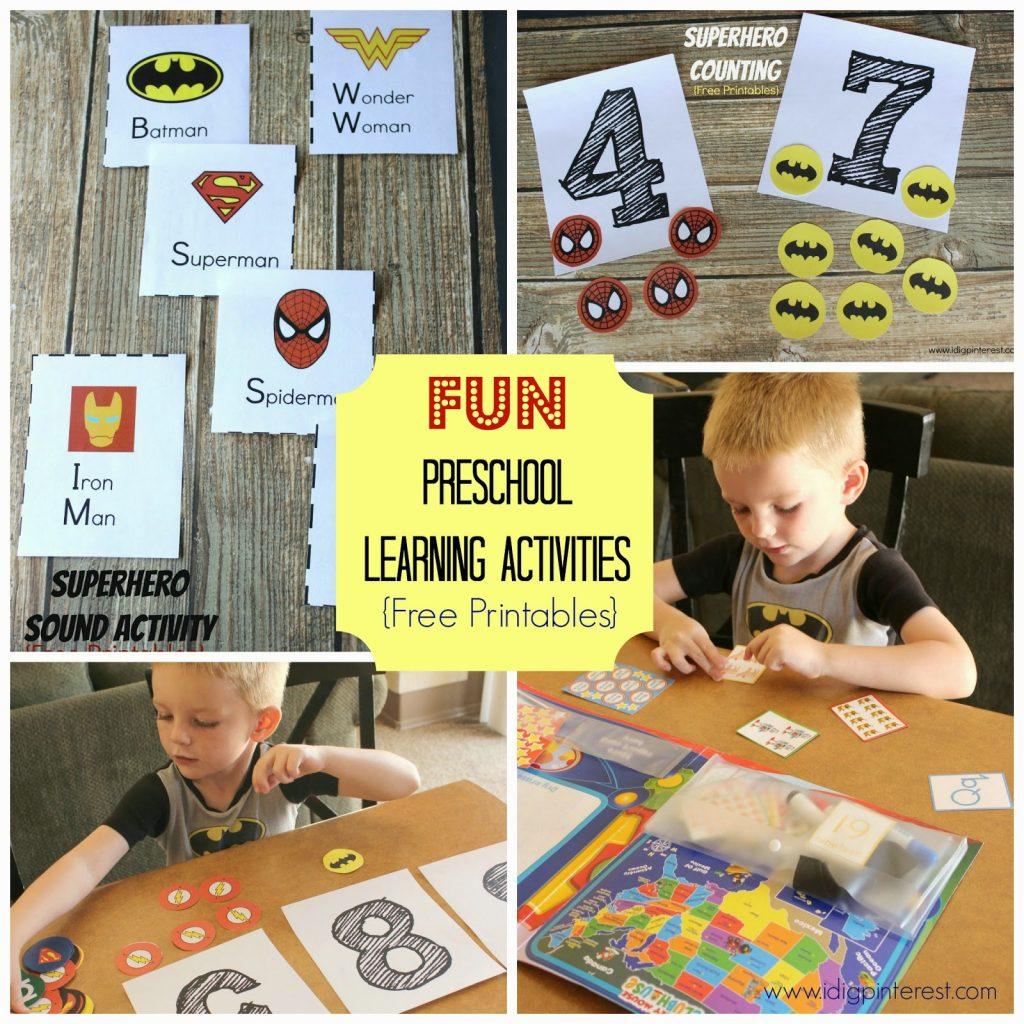Make Learning Fun With Disney Jr Preschool Superhero