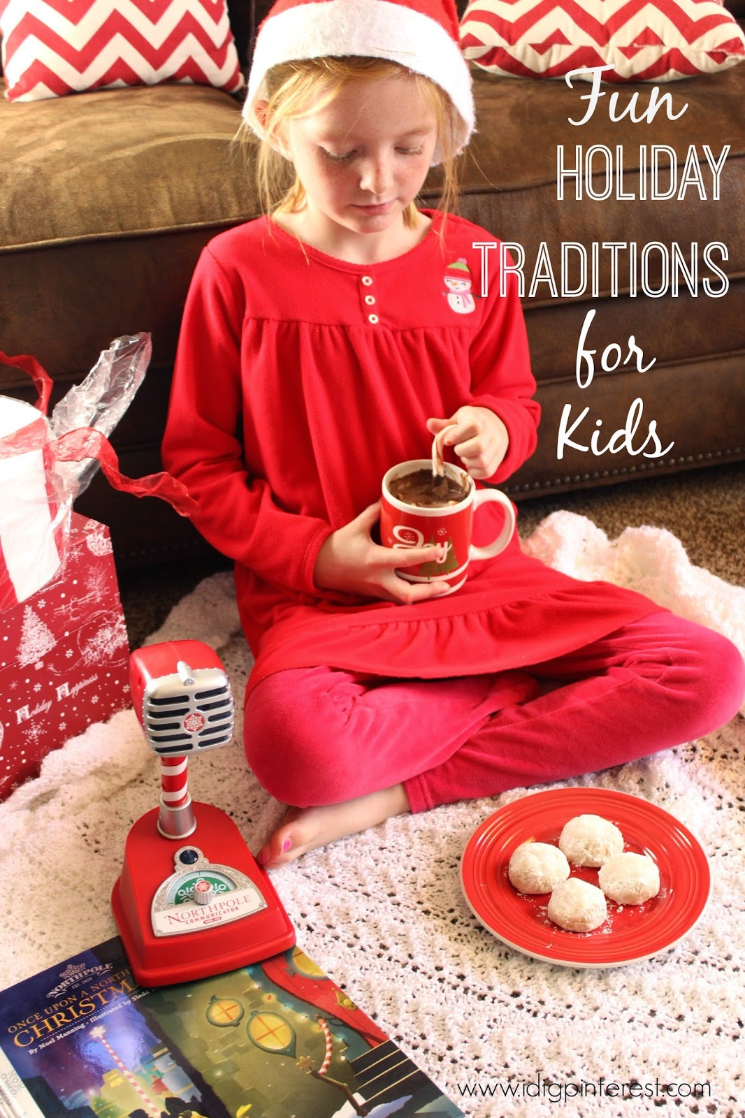 Fun Holiday Traditions For Kids With Hallmark S Once Upon A Northpole Christmas Book Plus A